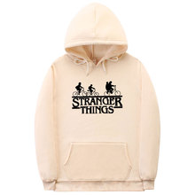 2019 New Stranger Things high quality Cotton Hoodies Men Women  Fashion Winter Autumn Sweatshirts Pullover Hoodie Lovers costume
