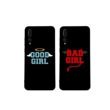 Чехол для телефона BFF good bad girl best friends для huawei P20 P30 Pro P20 lite P10 plus mate 10 lite 20 pro Honor view 10 Y7 Y9