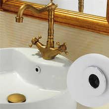 Пластик разлива воды Чехлы кольцо для защиты от переполнения раковина с украшением в виде кольца; переполнения запасное кольцо Керамика бассейна отделка Ванная комната Принадлежности