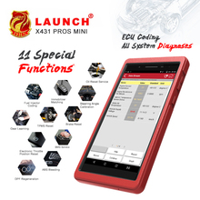 100% original Launch X431 Pro 7'' Advanced Professional diagnostic tool 7'' scanner Wifi/Bluetooth function  free Update Online 2018 original xtool ps2 gds gasoline version professional car diagnostic tool ps2 gds free update online without plastic box