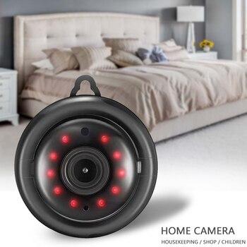 цена на V380 Mini Wifi Camera IP Camera Wireless CCTV Infrared Night Vision Motion Detection 2-Way Audio Home Security Camcorders