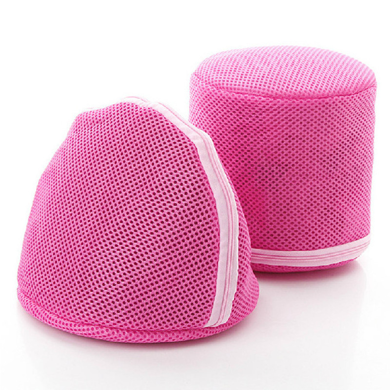 Women's Double-layer Thickening Bra Underwear Zipper Laundry Bag Laundry Socks Protective Net Fine Mesh Clothes Care Washing