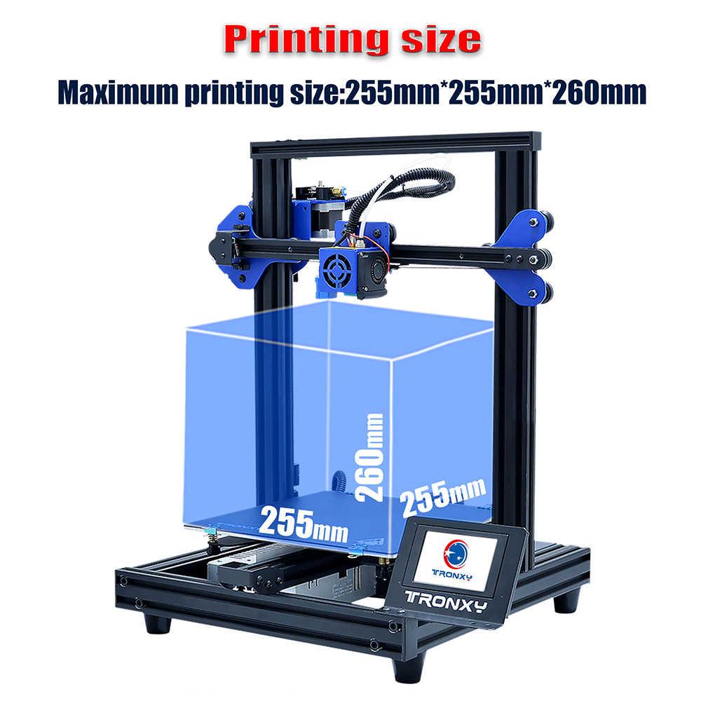 2019 Tronxy XY-2 Pro imprimante 3D Kit assemblage rapide 255*255*260mm Support Auto nivellement reprise impression Filament épuisement détection