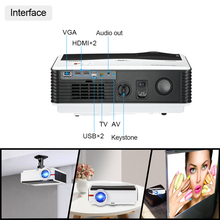 A9/A9AB Smart Android WiFi LCD LED 1080p Projector