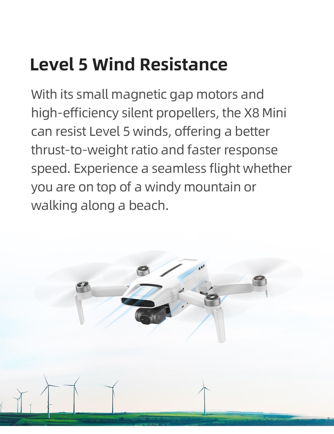 Mini Camera Drone 250g-class drone 8km 4k professional mini drone