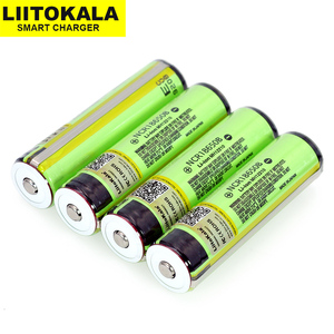 2020 Liitokala 18650 3.7V 3400mah NCR18650B for rechargeable Lthium Battery protection board Suitable flashlight battery