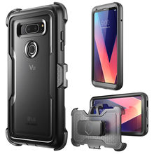I BLASON For LG V30 Case Magma Full Body Shock Reduction Cover with Built in Screen Protector For LG V30 / V30 Plus / V30S 2017