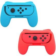 Joycon-soporte izquierdo + derecho para mando, funda de rejilla de mano para Nintendo Switch NS