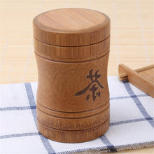VOGVIGO Portable Mini Tea Box Bamboo Material Travel Outdoor Vase Sealed Jar Gift Tea Set Accessories New 2020 Small Gift(China)