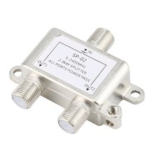 Small size JASEN Power Splitter Satellite Two 2-way/3-way/6-way/8-way splitter light weight power splitter,