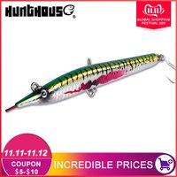 Hunthouse sayoris needle fishing pencil lure stickbait hard bait sea bass 140mm/180mm sinking skipping garfish sphyraena pesca