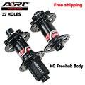 Ступица для горного велосипеда ARC MTB 9/15x100 10x135 12x142 32 отверстия 4 трубочки 48 колец NBK подшипник Shimano 11S велосипедная ступица