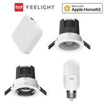Yeelightスマートダウンライト2700 6500 18k天井ダウンライトメッシュハブ版mijiaアプリappleのhomekitスマート制御