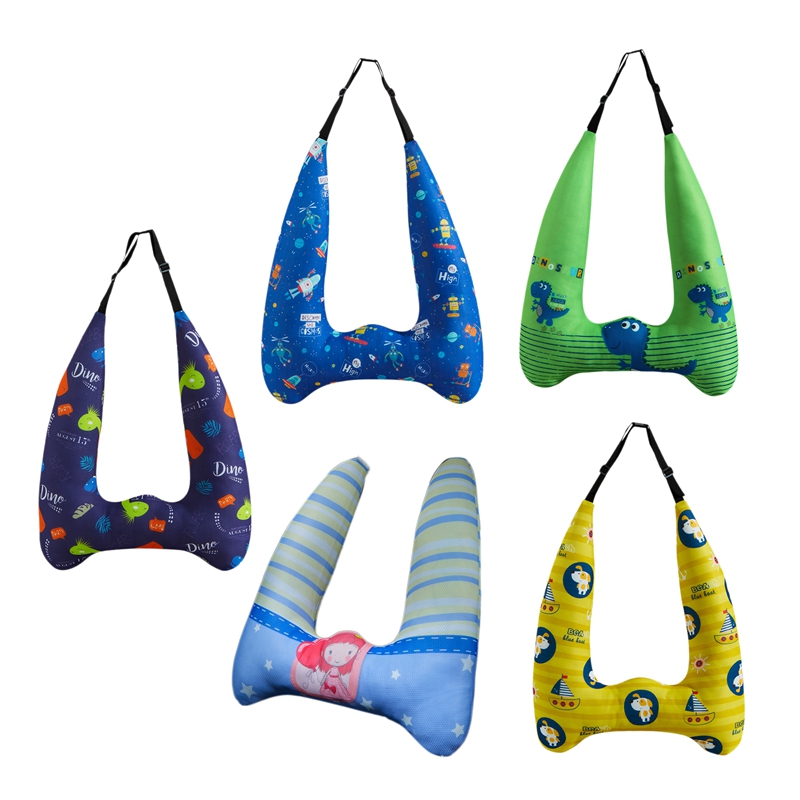 Car Seat Belts Kid Cushion Cartoons Protect Neck Safety Children Traveling Pillow In-Car Supplies
