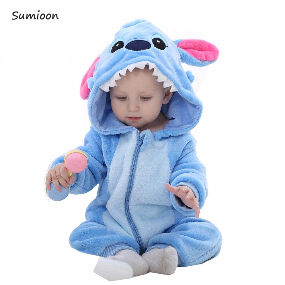 Macacão recém-nascido do bebê meninos meninas macacão bebe roupas da criança infantil pijamas de inverno roupas do bebê ponto macacão trajes do bebê
