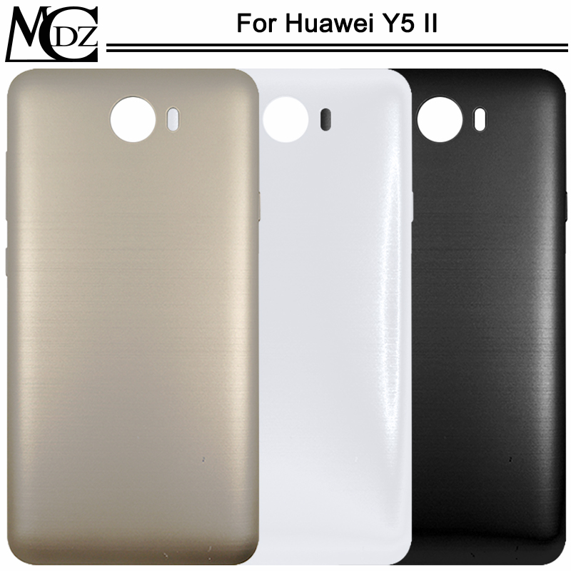 New Y5-2 Battery Cover For Huawei Y5 II CUN-U29 CUN-L23 CUN-L03 CUN-L33 CUN-L21 CUN-L22 Phone Housing Back Rear Cover Lid