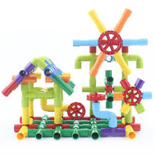 Детская игрушка пазл пластиковая трубка для интубации сделай