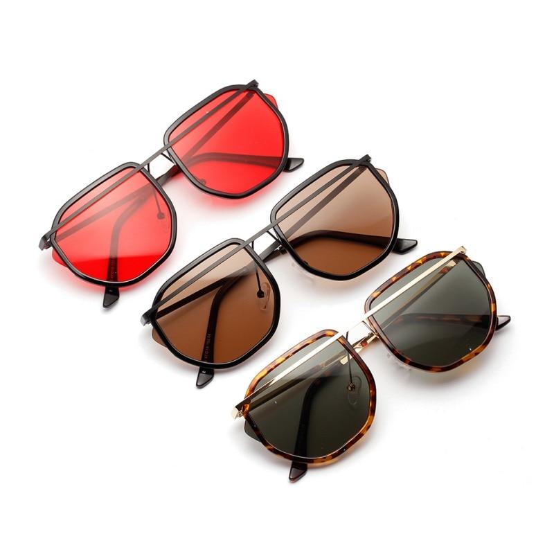 New Arrival Retro Polygonal Lens AC Sunglasses Metal Frame Eyeglass Festival Sun Glasses Women UV400 Gafas De Sol Mujer