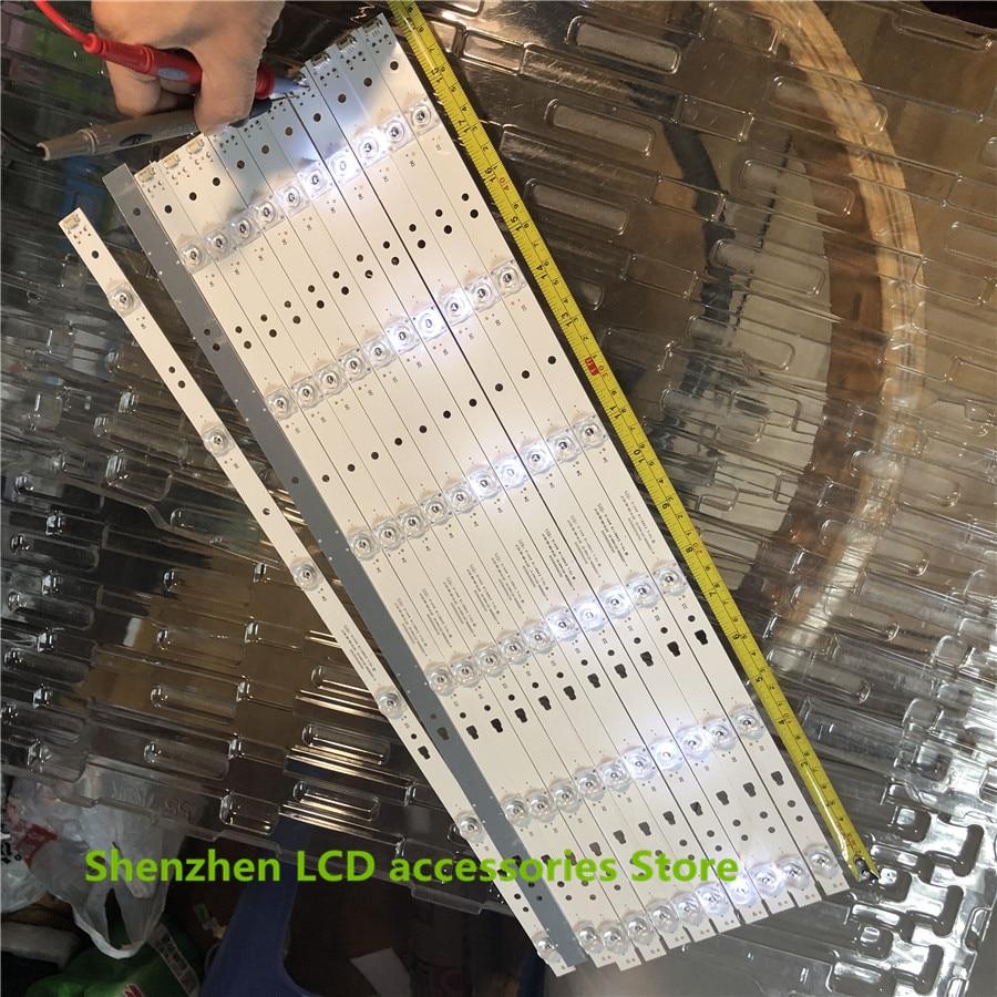 12PCS LED Backlight Strip 6 Lamps For 50inch TV 50A6 LE50U51A Light Bar 30350006205 LED50D06-ZC14AG-01 100%NEW