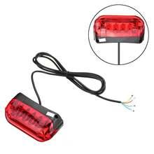 36 В/48 в электрический велосипедный задний светильник светодиодный