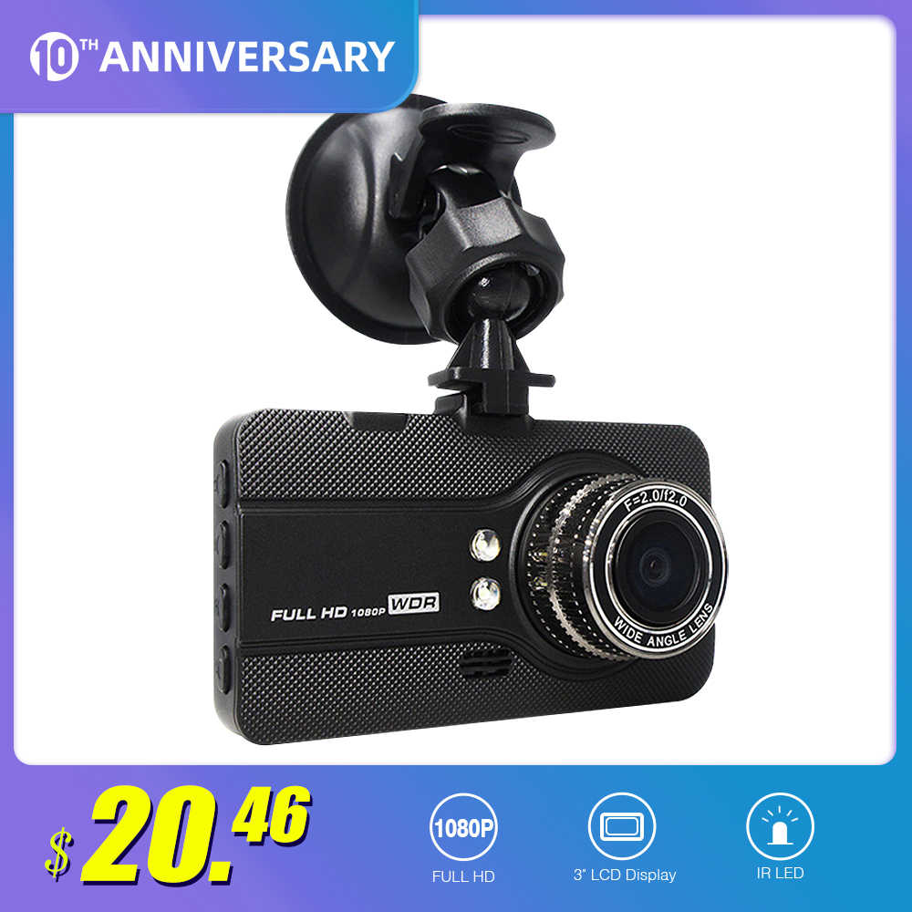 "Mobil DVR 100% Original Novatek Kamera 1080P 2.7 ""Full HD Dash Cam DVR Perekam Video Registrator Avtoregistrator pencatat"