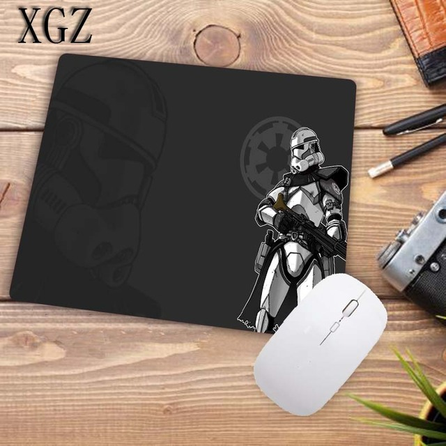 XGZ Cool Star Wars Large Gaming Keyboard Mouse Pad Desk Mat Table Mousepad Office with Locking Edge Size 60cm 70cm 80cm 90cm XXL 4