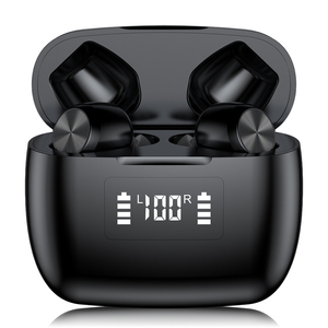 Image 3 - T9 TWS Wireless headphone bluetooth 5.0 Earphone Waterproof Sport Stereo HIFI Earbuds LED Power Display Gaming Headset PK f9 tws