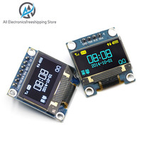 """0.96 inch IIC Serial Yellow Blue OLED Display Module 128X64 I2C SSD1306 12864 LCD Screen Board GND VCC SCL SDA 0.96"""" for Arduino