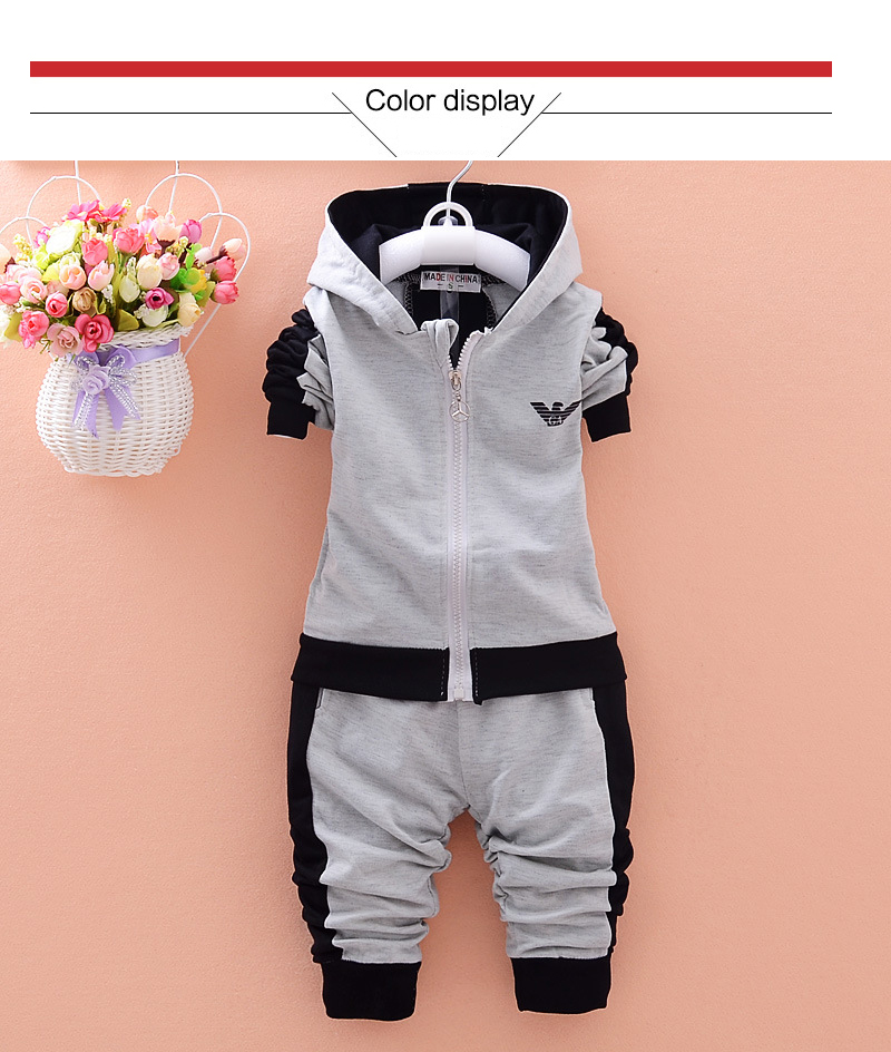Korean Childrens Clothing Girls Autumn Two-Piece Suit Sportswear Kids Sets