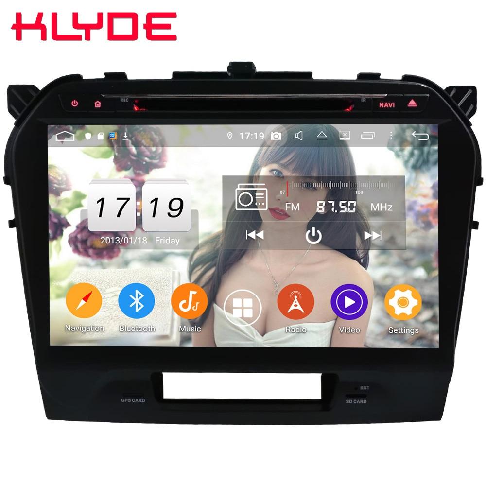 Klyde 10.1 IPS 4G WIFI Android 9 Octa Core 4GB RAM 64GB ROM DSP BT Car DVD Multimedia Player Radio For Suzuki Vitara 2014 2019
