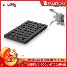 Smallrig câmera estabilizador placa de queijo multi-purpose dslr placa de montagem com 1/4 3/8 furos de rosca-1092