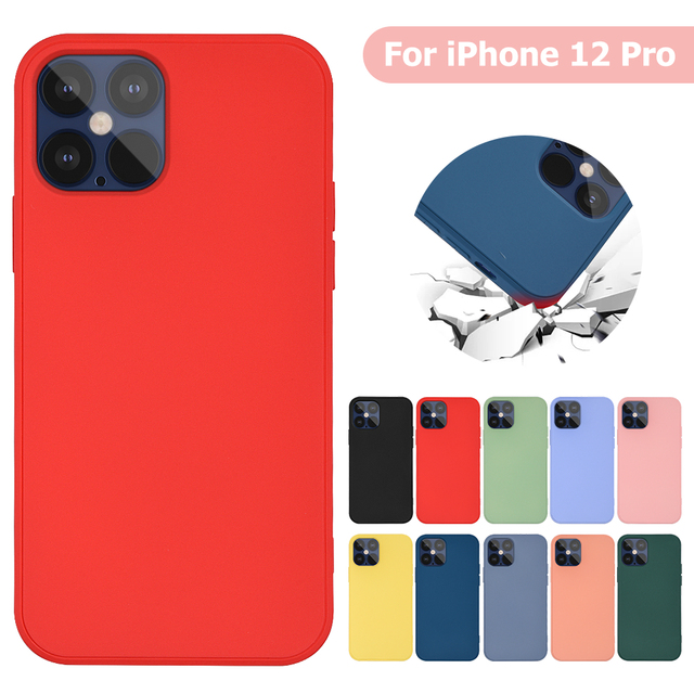 Imitation Original Liquid Silicone Cover For iPhone 12 12 Pro Cover Case For iPhone 12 Max 12 Pro Max Liquid Silicone Phone Case