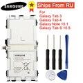 Batería Original EB-BT800FBE/FBC/FBU para Samsung GALAXY Tab S 10,5 SM-T800 T801 T805C Tab Pro SM-P600 Tab3 P5220 Tab4 Nota 10,1