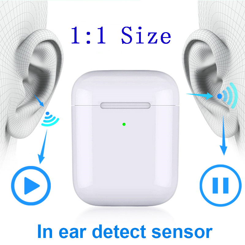 2019 I9000 Tws Original Wireless Earphones In-ear Smart Sensor Bluetooth 5.0 I 9000 Tws 1:1 Aire 2 PK I1000 I2000 I5000 Tws