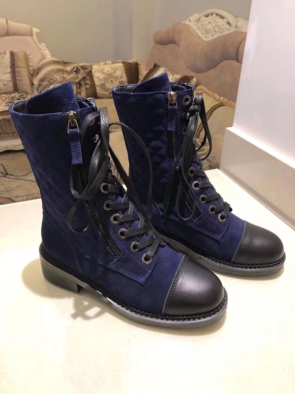 Г., новые модные повседневные женские ботинки «Мартенс» удобные вязаные дышащие женские ботинки на шнуровке женская обувь на толстой подошве - Цвет: 6