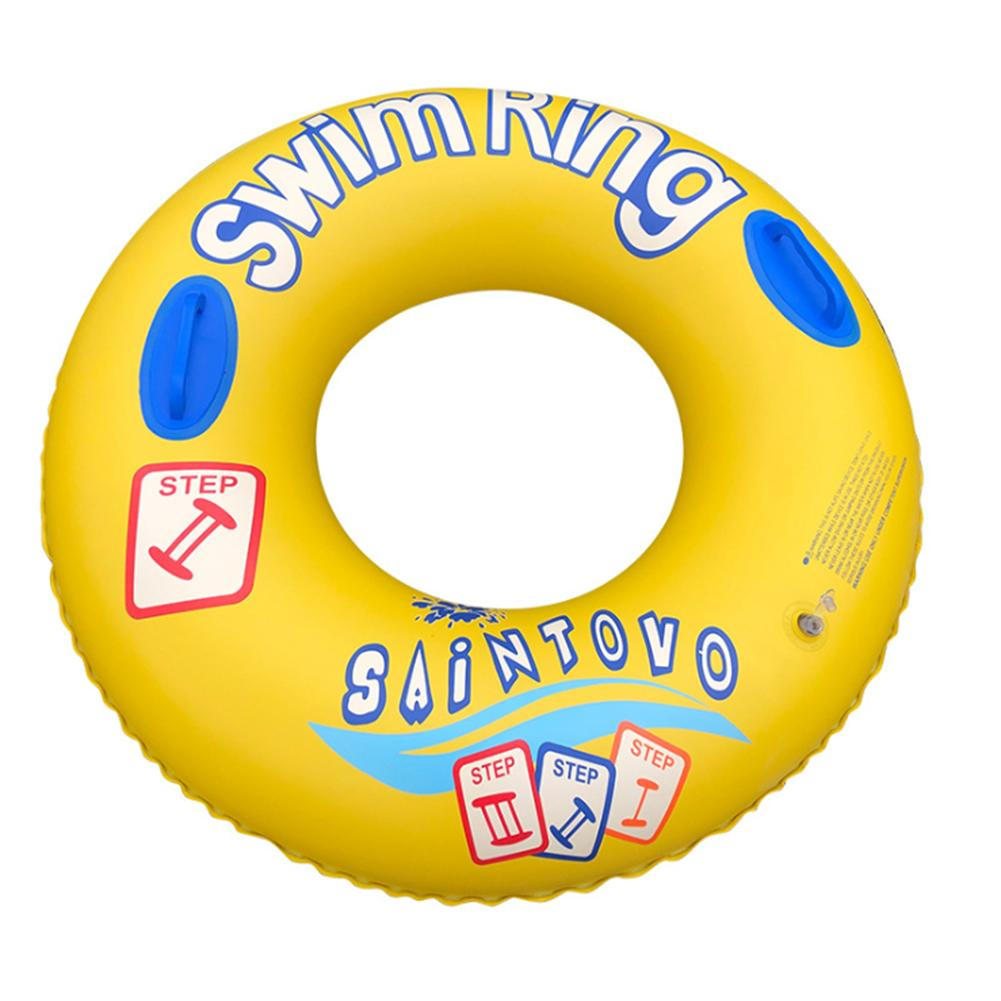 Inflatable Swimming Ring Color Tubes Floating Row Water Toys For Children Environmentally Friendly PVC Material For1-6 Years Old