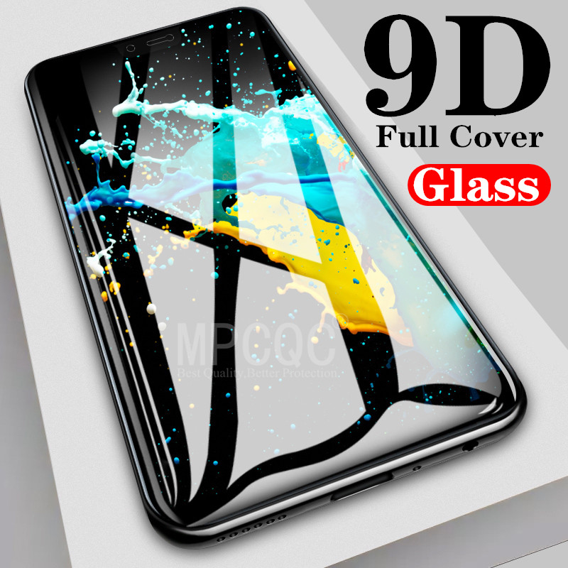 9D Full Cover Tempered Glass For <font><b>OPPO</b></font> Reno Z Glass R17 <font><b>Pro</b></font> RX17 Neo F9 A7X AX5 AX7 A9 A9X <font><b>F11</b></font> Screen Protector Toughened Film image