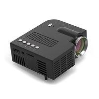 New UNIC 28 LED Mini Projector Portable 1080p Full HD Projector Home Theater Entertainment Projectors HDMI/USB/SD/VGA/AV Input