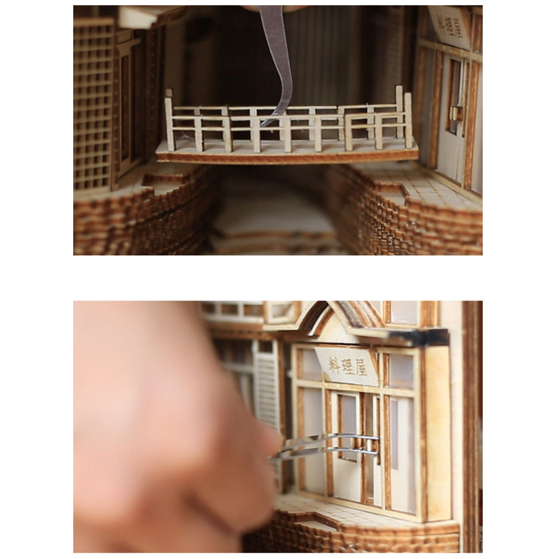 Ginzan Onsen Miniature Book Nook * 2 Types Features: