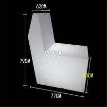 Ngryise 1 комплект led бар ktv Сияющий случайный цвет диван
