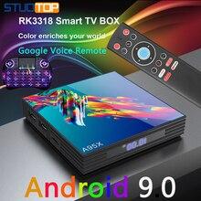 A95X R3 Smart iptv android tv box 4G 32G 64G 5G WIFI 4K media player netflix youtube mini tv box android 9.0 android 7 1 smart tv box rk3328 4g 32g ricevitore tv 4 k 2160 p 3d wifi media player play store netflix youtube iptv set top box