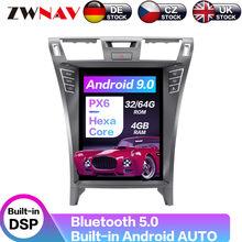 "12.1 ""Android 9,0 64 + 4G PX6 Vertikale Tesla Mit DSP Carplay Auto Multimedia-Player Für Lexus LS460 LS460L LS600h GPS Navigation"
