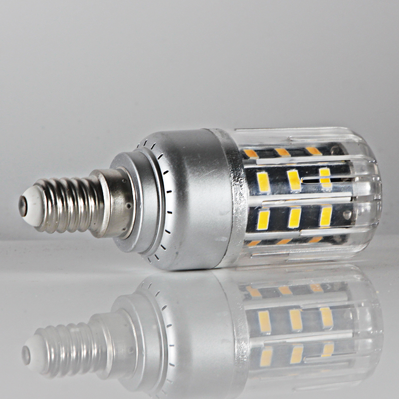 Купить с кэшбэком bombillas led corn bulb 5W E12 E14 E27 Aluminum spotlight lights 86v to 265v high quality energy saving lamp 110v 220v lighting
