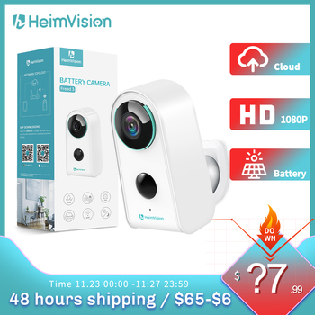 HeimVision HMD3 IP Camera WiFi 1080P Wireless Security Outdoor Battery Camera Rechargeable Surveillance Camera 2-Way Audio Home