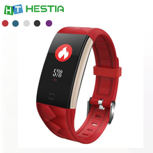 T20 Smart Fitness Bracelet Sports Tracker with Blood Pressure Measurement Sleep Monitor Heart Rate Alam Clock Smartwatch
