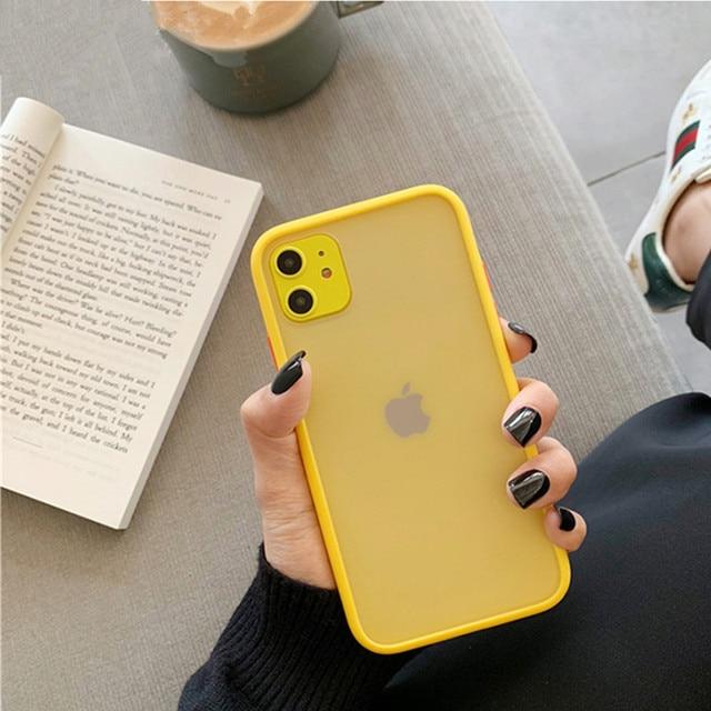 Mint Hybrid Case for iPhone SE (2020) 5