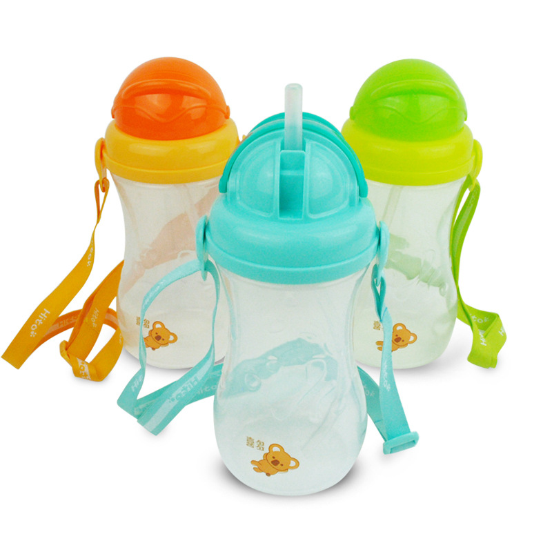 HITO Sports CHILDREN'S Kettle With Suspender Strap 465 Ml Blue/Green/Orange 71796