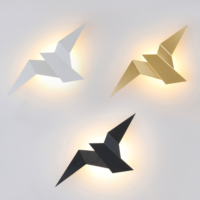 Nordic Led  Birds Wall Lampen 1