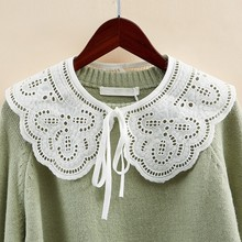 2021Novo laço falso gola blusa gola camisa gola blusa destacável acessórios topo roupas femininas collar Falso