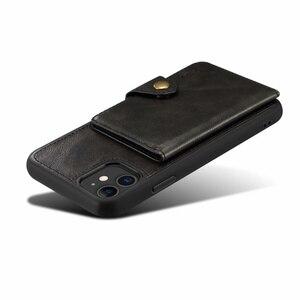 Image 2 - ريترو بو الجلود الحال بالنسبة آيفون X 11 7 8 Plus XS متعددة حامل بطاقة Fhx ss الهاتف حالات آيفون XS ماكس XR 11 برو ماكس عودة